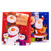 Glossy Father Xmas and Snowmen Medium Gift Bags