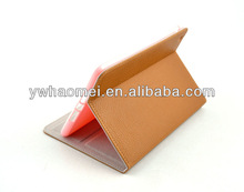 Leather back stand case for mini ipad