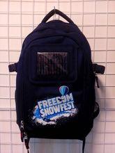 2013 solar backpack 1680D solar bag