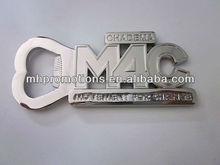 2013 New custom metal cool bottle opener keychain