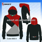 design colors combination pullover hooded jackets(SSE-5R)