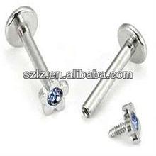 labret piercing picture