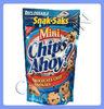 Food grade resealable plastic bag for food