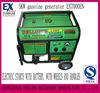 2012 Gasoline Emergency Power Green Generator EX7000EN