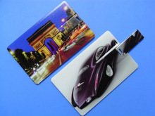 promotional gift visa card usb flash memory