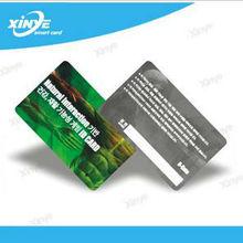 CMYK printed EM4305 plastic card for transportation system