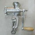 Fácil limpeza manual do moedor de carne/fuyu metal