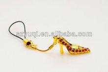 fashion pumps mobile phone pendant&accessories