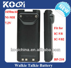 BP-210 Ni-Mh ICOM 2 Way Radio Battery for IC-V8 IC-V82