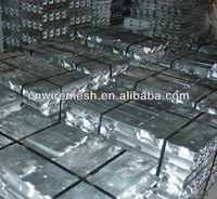 aluminium zinc ingots