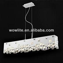 2012 Sales leader crystal pendant lamp D1402-6WH