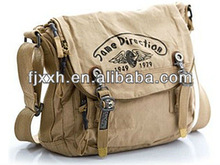 casual satchels, men's washed canvas messenger bags