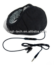 Earmuff headphones with in-line Microphone in Choice of colors