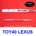 wholesale locksmith supplies Lishi TOY40 Lexus lock pick tool