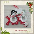 Rudolph ve geçin kişiselleştirilmiş yılbaşı süsleri, çift süsleri