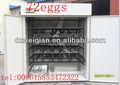 Incubadoras automáticas de make pintos de avestruz para venda / avestruz máquina agrícola ( 72 eggs )