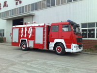 SINO HOWO 290HP water fire fighting truck