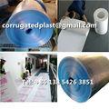 correx paneles de plástico para la protección de la pared