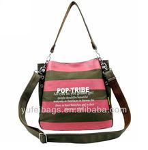 Canvas shoulder long strap book bag