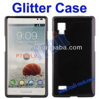 Wholesale Ultra Glossy Glitter Powder Soft Gel TPU Case for LG P760 Optimus L9