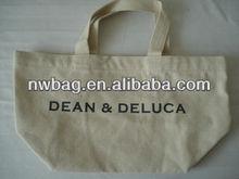 natural cotton shopping bag with printing