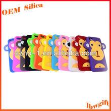 Wholesale Fun Shape Multi Colours mobile phone silicone rubber case / silicone rubber cover / skin for 5G