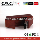 Wood Secure Usb Flash storage