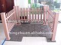 alta qualidade da telha de wpc wpc decking cerca de enfeites de jardim cerca wpc máquina perfil