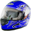 AD-178 Cool Full Face motorcycle helmet with skull design for sale