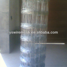 high tensile galvanized cattle fence
