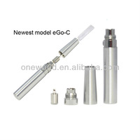 Hot fancy electronic cigarettes rechargeable battery changeable atomizer huge vapor ego c kit