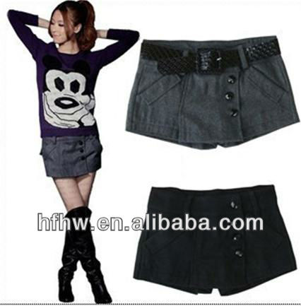 2013 AUTUMN WINTER KOREAN WOMEN'S NEW CLOTH SHORTS UPSET FEMALE MONEY