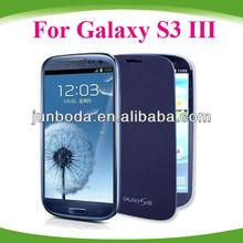 For Samsung Galaxy S3 III Flip Cover Pebble Blue flip case