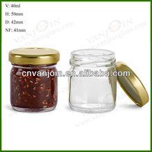 40ML Round Sample Jar 43 Lug