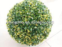 2013 China Artificial grass ball garden fence gardening plastic mirror ball