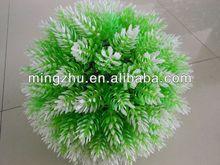 2013 China Artificial grass ball garden fence gardening inflatable punching ball