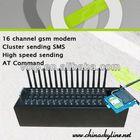 USB gsm bulk sms modem pool,16 port sms modem,mobile phone software for making sticker