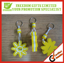 Unique And Fashional Style Top Quality Soft Plastic Keychain