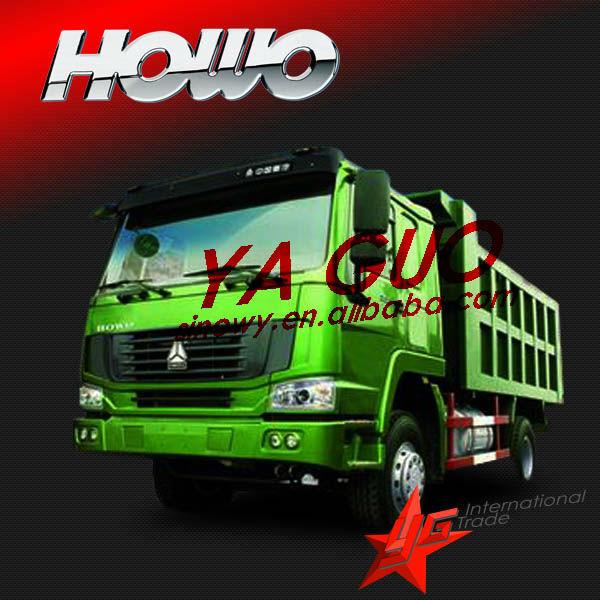 howo 4*2 290hp dump truck chana mini van
