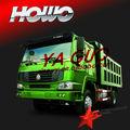 Howo 4*2 290hp camiones volquete chana mini van