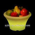 sistema de iluminación de plástico bandeja de la fruta