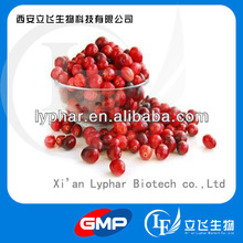 Factory supply high quality cranberry extract