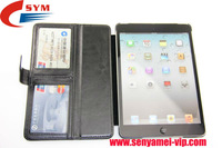 Factory Crystal Material wallet for ipad mini cases with buckle