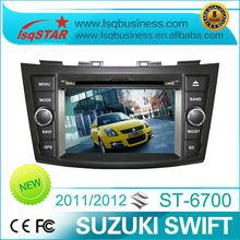 Distributor LSQ Star Car DVD Player for SUZUKI swift 2012 with GPS Radio BT