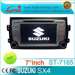 Distributor LSQ Star Car DVD Player for SUZUKI SX4 with GPS Radio ipod BT