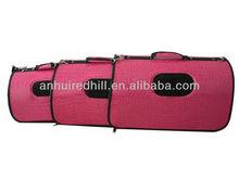 High grade alligator leather pet carrier