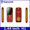 H1 mobile phone dual sim quad band 1.44 inch screen