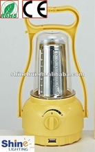 2015 hot selling fashionable outdoor solar lantern with phone charge manufacturer in shenzhen