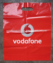 2013 Hot Sale! Die cut promotional plastic bag