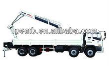 mini truck mounted crane/unic truck mounted crane/ XCMG knuckle boom type truck mounted crane SQ10ZK3Q